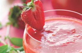 Strawberry Tomato Gazpacho