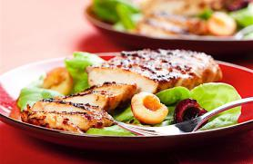 Grilled Chicken with Cherry Chutney