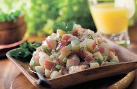 Roasted Potato Salad with Lemon Pesto Vinaigrette