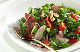Thai Roast Beef and Herb Salad