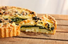 Potato-Kale Tart