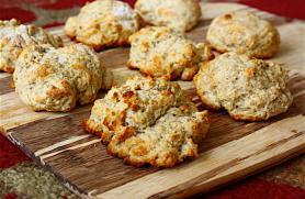 Parmesan Drop Biscuits