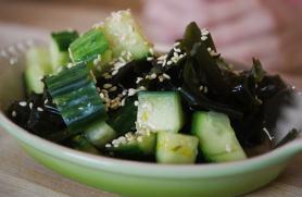 Orange Wakame Salad