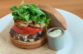 Gourmet Greek Burger