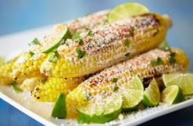 Corn with Cilantro Cumin Butter
