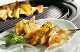 Grilled Fruit Kebabs