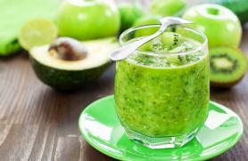 Kiwi-Avocado Smoothie