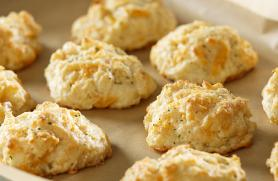 Cheddar-Tabasco Drop Biscuits