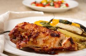 Grill-Smoked Barbecued Chicken