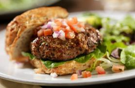 Smoky Grilled Burgers