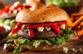 Smoky Grilled Portobello Burger