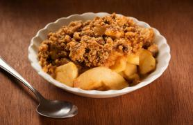 Morning Apple Crumble