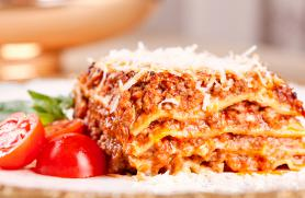 Hearty Beef and Sausage Lasagna