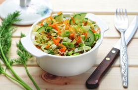 Cucumber and Fennel Slaw