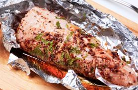 Pork Tenderloin with Indian Spices