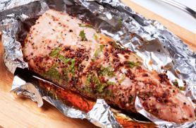 Pork Tenderloin with Indian Spices