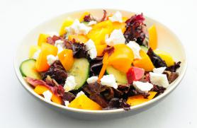 Beet, Goat Cheese and Cucumber Salad