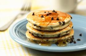 Chocolate Cinnamon Pancakes