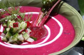 Chilled Summer Borscht