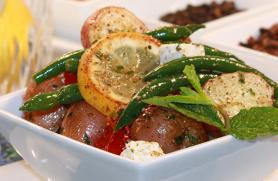 New Potato and Green Bean Salad in a Spice Blend Vinaigrette