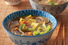 Big Bowl of Golden Turmeric Miso Soup