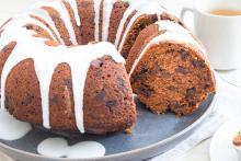Chocolate Chip Applesauce Bundt Cake