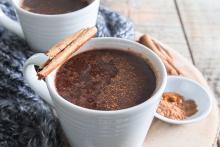 Mug of Horchata Hot Cocoa
