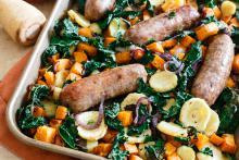 Italian Sausage with Fall Veggies