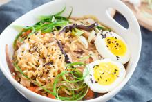 Mushroom Miso Ramen Bowl