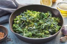 Sauteed Kale with Garlic and Lemon