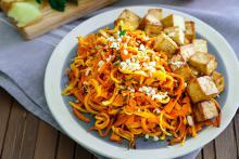 """Orange-Ginger Carrot """"Noodles"""""""