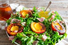 Prosciutto and Grilled Nectarine Salad