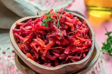 Gingered Beet and Apple Salad