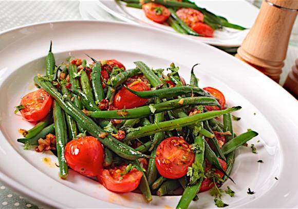 Balsamic Vinaigrette and Zingy Green Bean Sauté Recipe | Co+op ...