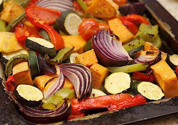 Mediterranean Roasted Vegetables Recipe