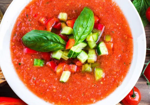 Heirloom Tomato Gazpacho Recipe | Co+op, stronger together