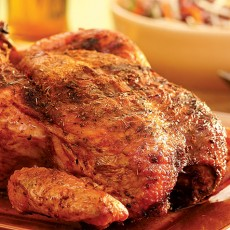 Beer-Barbecued Chicken