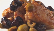 Chicken with Green Olives & Prunes