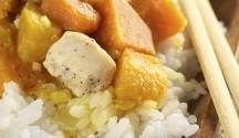 Curried Winter Squash and Chicken Stew