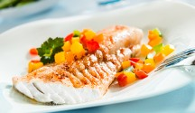 Fish with Indian Curry Butter