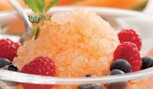 Melon & Apple Granita