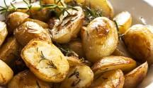 Rosemary Roasted Potatoes with Artichokes