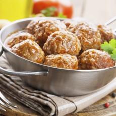 Stuffed Lamb Meatballs