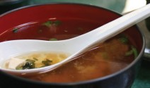 Ginger Miso Soup with Arame
