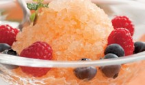 Melon & Apple Granita
