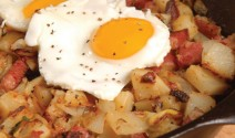Spicy Corned Beef Hash with Chorizo