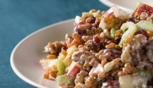 Wheatberry and Apple Salad