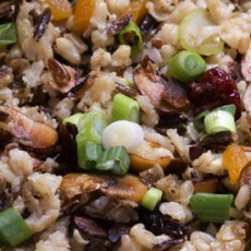 Wild Rice Cranberry Apple Pilaf