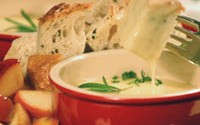 Three Cheese Fondue