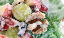 Waldorf Salad with Yogurt and Honey
